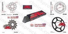 JT Cadena Piñón Kit 12t 50t 520HD 114 Se Ajusta Suzuki RM125 97-99