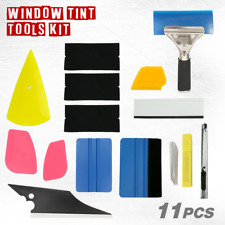 11PCS Window Tint Tools Kit Car Auto Film Tinting Scraper squeegee Installation
