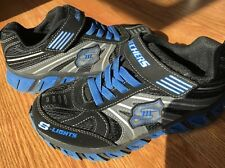 Skechers S-Lights Leather/ Textile UK Size 2 SN 90406L