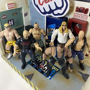WWE WWF Vintage BCA Jakks Pacific Bundle