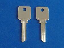 TWO KEY BLANKS FIT MEDECO LOCKS #A1638 BIAXIAL G3 KEYWAY 6-PIN