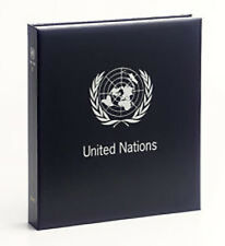 DAVO UNITED NATIONS LUXE STAMP BINDER WITH SLIPCASE WTHOUT PAGES