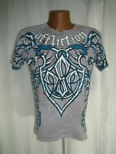 AFFLICTION SIGNATURE SERIES GEORGES ST PIERRE SHIRT ADULT SIZE S MMA UFC FIGHTER