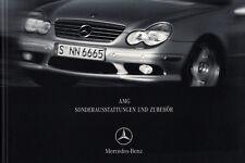 MERCEDES AMG CLK C208 W210 SLK R170 Sonderausstattungen Zubehör Prospekt 2001 64
