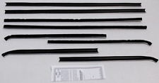 1967-69 PLYMOUTH BARRACUDA NOTCHBACK WINDOW BELTLINE WEATHERSTRIP KIT (8 PIECES)