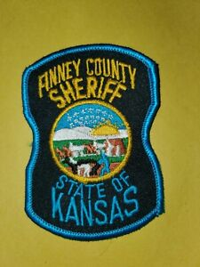 State Of Kansas Finney County Sheriff Patch