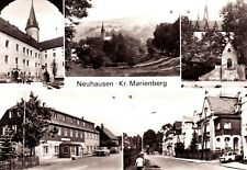 Neuhausen , Kr. Marienberg , DDR , Ansichtskarte
