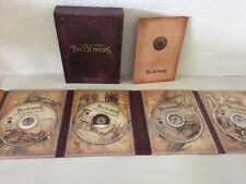 The Lord of the Rings: The Two Towers Dvd 2003 4-Disc Set Special Edition Vguc