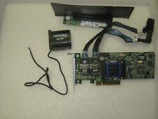 Adaptec Raid Controller ASR-6805T 8 Ports PCIE2  512MB + BBU Battery+2 X 04GKND
