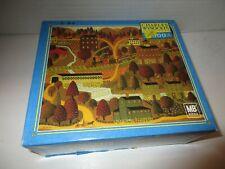 Americana Charles Wysocki 1000 Piece Puzzle Silkie Train 1008 Pieces