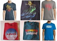 Levi's Men's T-Shirt Black, Cyan, Blue or Red S, M, L, XL or 2XL, New