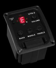 Artec UTN-3 UTN3 UKULELE preamp with PP404U piezo and jack kit