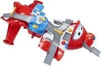 Super Wings EU720830 Jett' s Take-Off Tower Flugzeug Tramsformer, Mehrfarbig