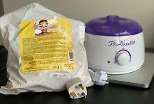 Used Wax Heater Wax Warmer Hair Removal Waxing Kit, Pro Wax 100 + depilatory wax