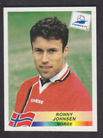 Panini - France 98 World Cup - # 72 Ronny Johnsen - Norge