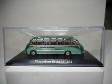BUS134 SETRA S8 KASSBOHRER 1951 BUS NOSTALGIE ATLAS 1:72