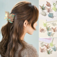 Women Large Acrylic Hair Claw Clips Barrette Crab Clamp Hairpin Hairdress New
