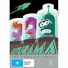 Futurama Complete Series Box Set (DVD, 2017, 27-Disc Set)