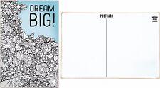 """New!~Wood Color Postcard Sign Plaque~""""Dream Big!"""" Plaque"""