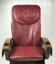 Pedicure chair Massage Seat Cover Cushion Upholstery with Oval Headrest Type B
