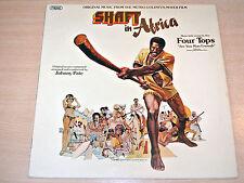 Ex/ex!!! Eje en África/1973 sonda Banda Sonora Lp/El Four Tops/Johnny Pate