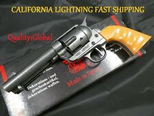 COLT FINGER GROOVED REPLICA FAST DRAW M1873 MOVIE PROP Pistol Hand Gun Training