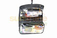 2 tier Men Bag light bag travel kit organiser n accessories bag/pouch Black/Blue