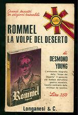 YOUNG DESMOND ROMMEL LA VOLPE DEL DESERTO LONGANESI 1965 I LIBRI POCKET 2