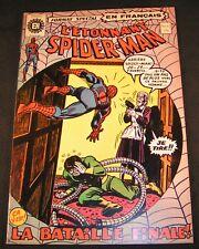 L'ETONNANT SPIDER-MAN # 17 RARE FRENCH HERITAGE VF, 1972