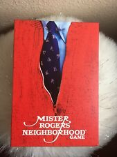 NIB / Buffalo Games Mister Rogers' Neighborhood Game Age 10 and up 2 to 5 player