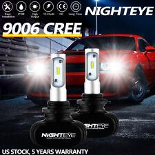 NIGHTEYE 9006 CSP LED Headlight Bulb Kit Low Beam 6000K 50W 8000LM White Lights