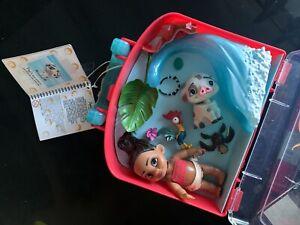 Disney Store Moana Animators Collection Mini Doll Playset