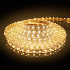 230V LED Strip Lichtleiste 5050 SMD Lichtband Licht Schlauch Streifen IP65 Hot