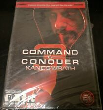 Command & Conquer 3 Kane's Wrath Pre Order Box PC Windows 10 8 7 XP Computer NEW