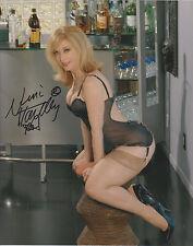 NINA HARTLEY Adult Video Star SIGNED 8X10 Photo d