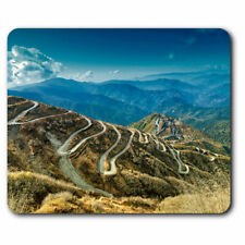 Computer Mouse Mat - Silk Trading Route China India Office Gift #3527