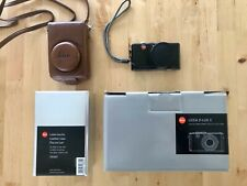 Leica D-LUX 3 Digital Camera Black With Genuine Leica Leather Case