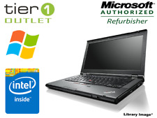 "Lenovo ThinkPad T430 Intel Core i5 2.6GHz 14.1"" Webcam Laptop 4GB 320GB HDD G.B"