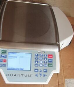 Nice Hobart Quantum Deli Grocery Restaurant Scale & Printer Clean Free Shipping
