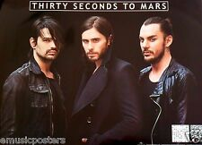"""Thirty Seconds To Mars """"Love Lust Faith Dreams"""" Thailand Promo Poster-Jared Leto"""