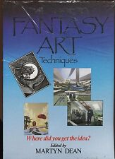 THE GUIDE TO FANTASY ART TECHNIQUES SOFTCOVER BOOK-NEW-SEALED-VARIOUS ARTISTS