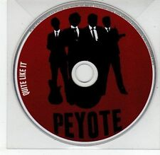 (EG722) Peyote, Quite Like It - DJ CD