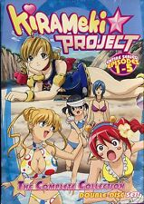 Kirameki Project: Robot Girls - Vols. 1 & 2 (DVD, 2008, 2-Disc Set, Subtitled)
