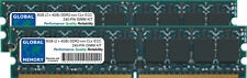 8GB (2x4GB) DDR2 667/800Mhz 240-pin ECC UDIMM Server/workstation memoria ram kit