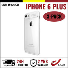 3IN1 Focus Cover Cas Coque Etui Silicone Hoesje Case For iPhone 6 Plus White