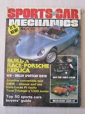 Sports Car Mechanics Magazine 4, June 1982, Porshe Replica, Scimitar, Ginetta