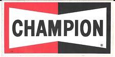 CHAMPION SPARK PLUGS LARGE STICKER FROM REP FORMULA 1 BTCC F3 FERRARI F1 JORDAN