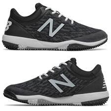 New Balance 4040v5 Black Men's Baseball Turf Shoe Trainer Black/White T4040BK5