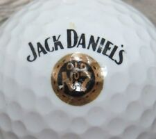 JACK DANIELS WHISKY WHISKEY NO 7 ALCOHOL LOGO GOLF BALL