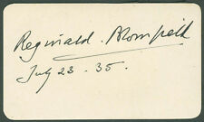 REGINALD BLOMFIELD - SIGNATURE(S) 07/23/1935